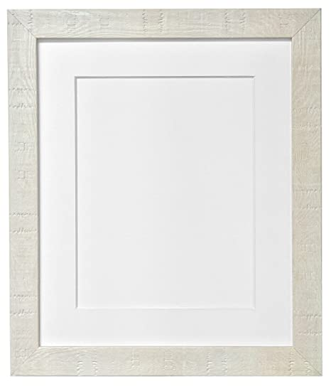 FRAMES BY POST Deep Grain Picture Photo Frame, Recycled Plastic, Off ...