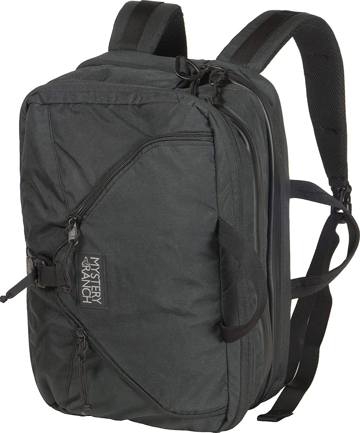 MYSTERY RANCH 3 Way Briefcase - Carry as Tote, Backpack and Shoulder Bag, Black, 22L