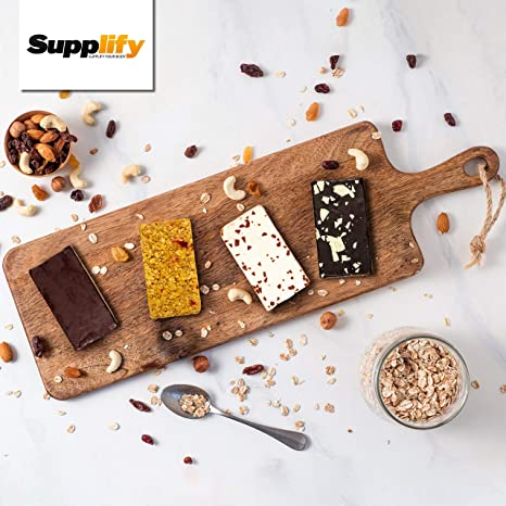 Barritas energéticas Oat Cake, de Supplify, ideal para ganar peso y musculatura o como alternativa a la barrita de proteinas, snack instantáneo
