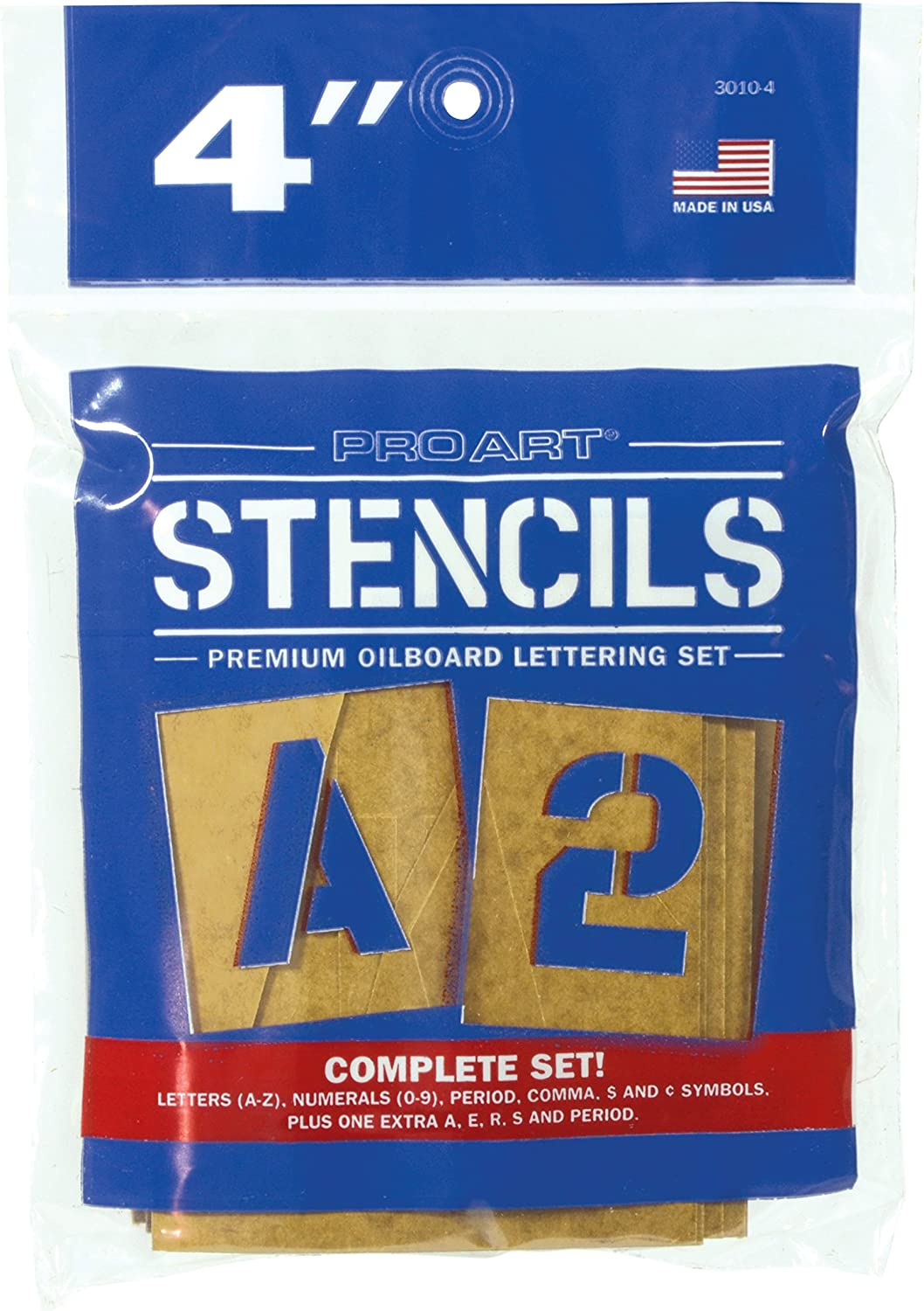 2 Pro Art PRO-3010-2 Painting Stencil Set