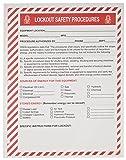 Brady Lockout Procedure Station Forms