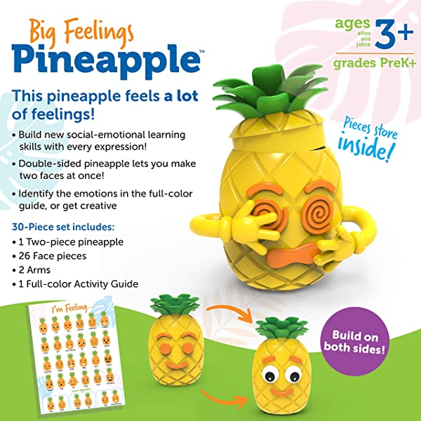 Learning Resources Big Feelings Pineapple