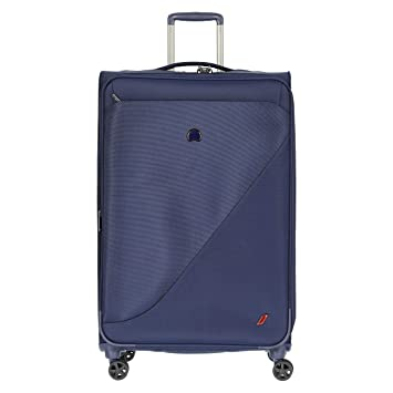 Delsey Paris New Destination Maleta 78 Centimeters 114 Azul (Navy Blue): Amazon.es: Equipaje