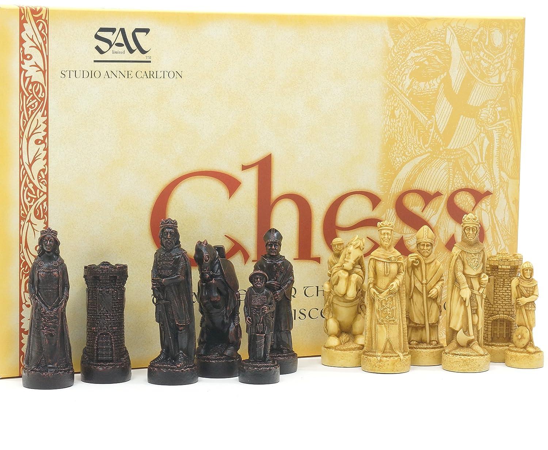 色々な The Battle Bannockburn of Pieces Bannockburn Battle Antiqued Chess Pieces B00OZ97NTS, バカラ専門店 リビングウェルデ:01ead845 --- arianechie.dominiotemporario.com