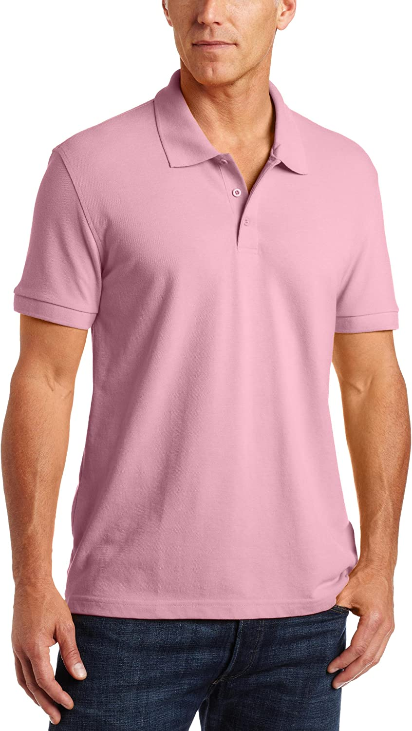 Classroom Mens Adult Unisex Short Sleeve Pique Polo
