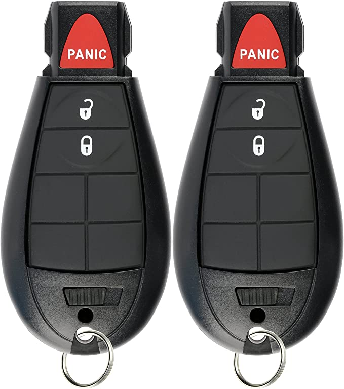 OEM Dodge Keyless Entry Remote Fob 4-Button Dodge Models Include 2013-2017 Dodge Ram Truck 1500 2500 3500 GQ4-53T 56046953