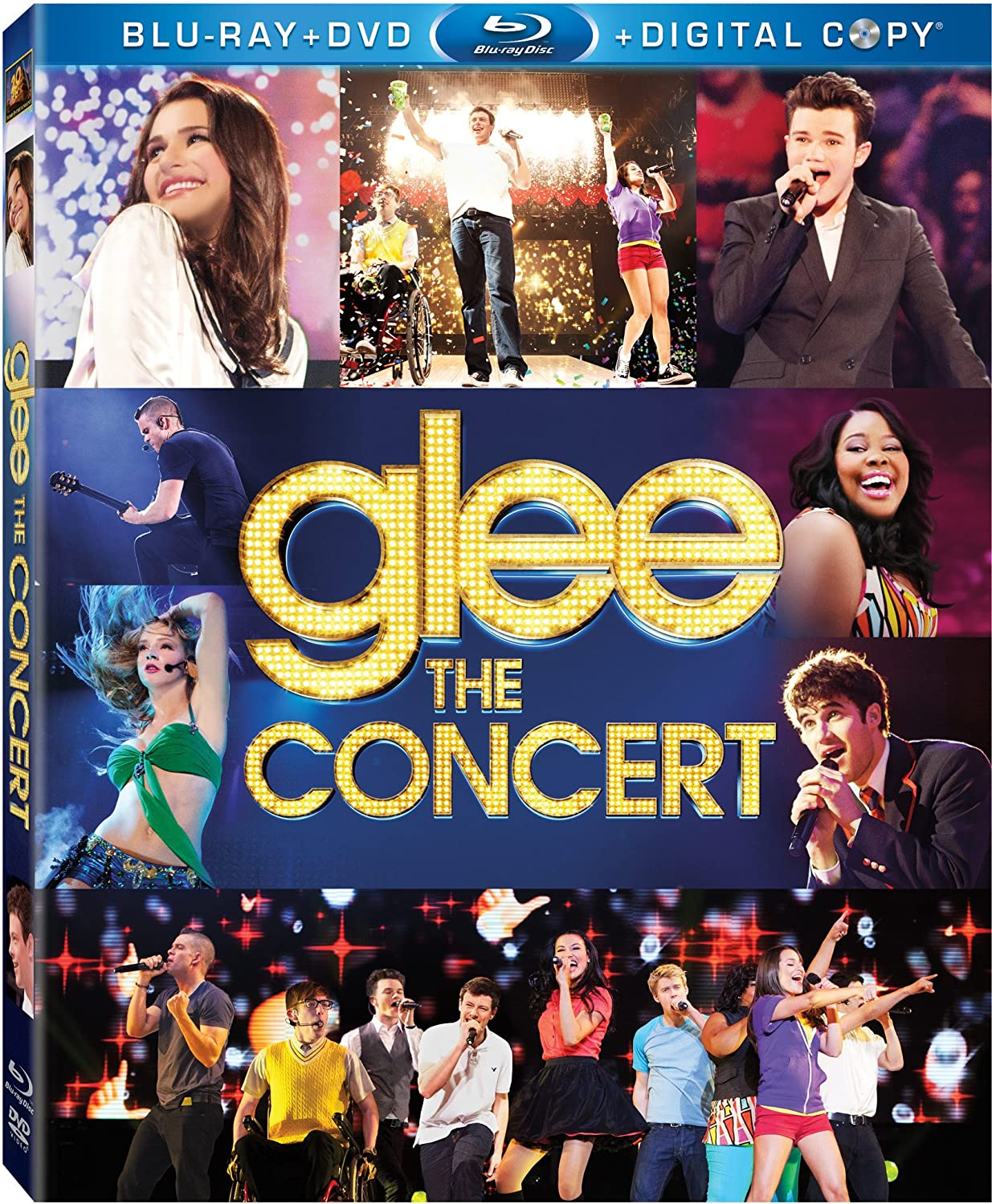 Glee: The Concert Movie [Blu-ray] 23913289 Broadway & Vocalists 3D