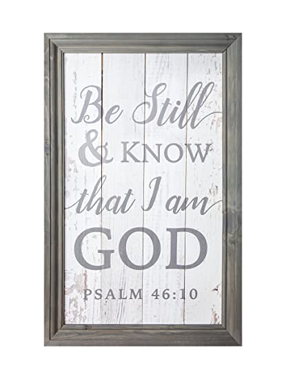 Amazoncom P Graham Dunn Be Still Know That I Am God 20 X 30