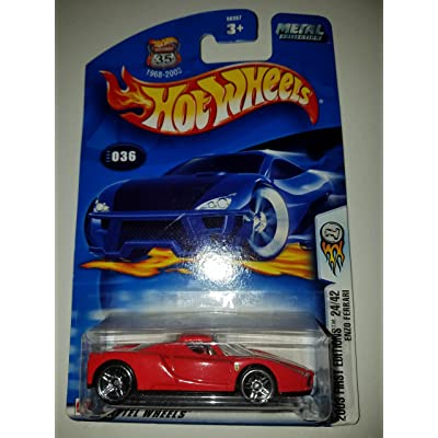 Hot Wheels 2003-036 First Editions Red Enzo Ferrari Highway 35 1:64 Scale: Toys & Games