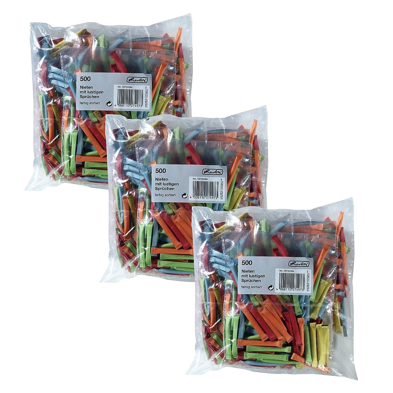 Herlitz 10733376 Gewinnlose mit Nummerierung 1-500, sortierte Farben   Kombi-Set (500 Gewinne  1000 Nieten) B01FVZ3KJ6 | Angemessene Lieferung und pünktliche Lieferung