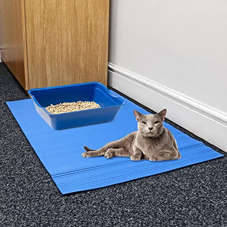 Prime Paws - Bandeja de Arena Grande para Gatos y Gatos, 100 x 65 cm