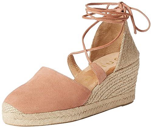 Unisa Casete_KS, Alpargatas para Mujer, Rosa (Printemps), 40 EU: Amazon.es: Zapatos y complementos