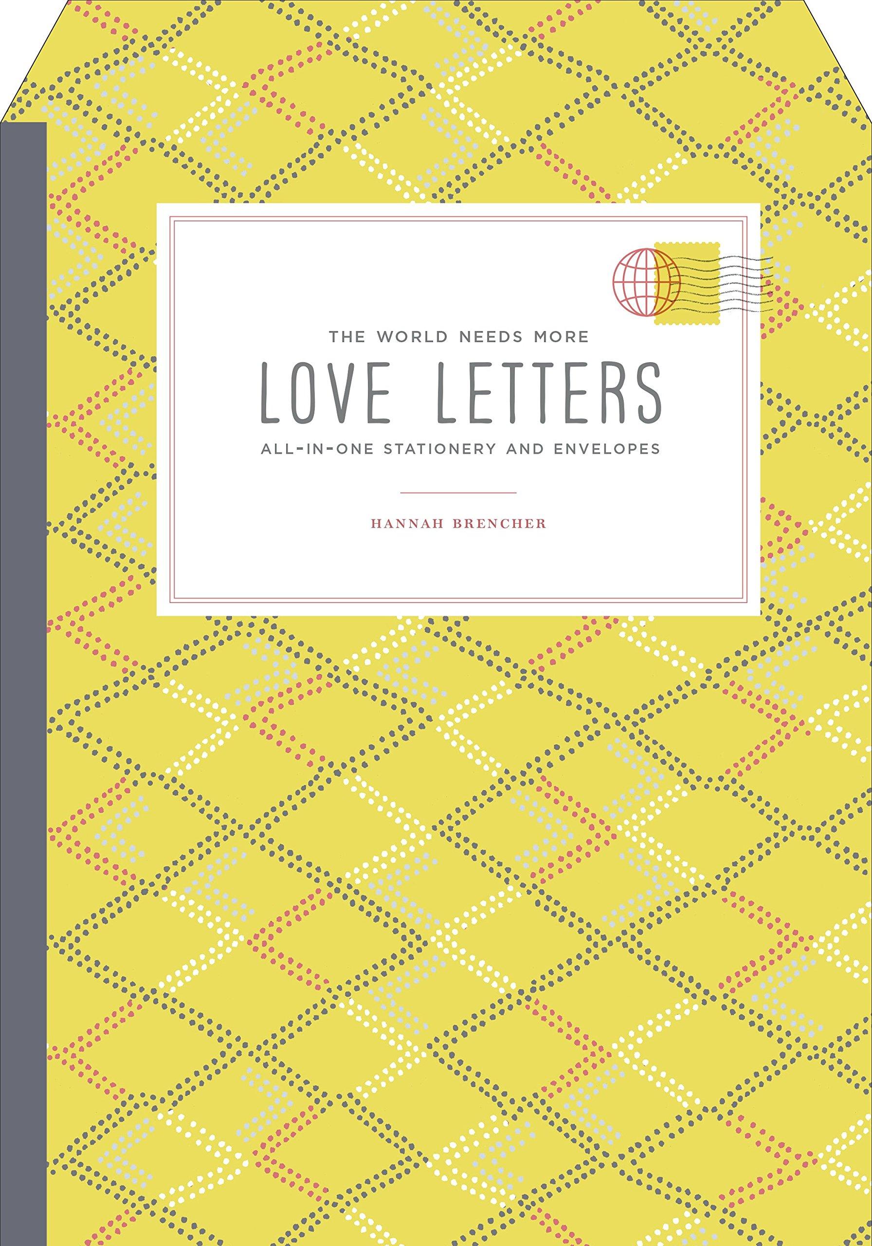 World Needs Letters Stationery Envelopes
