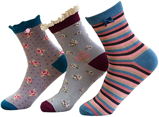 339ea276130 Image Unavailable. Image not available for. Color  Powder - Women s  Superior Bamboo Socks ...