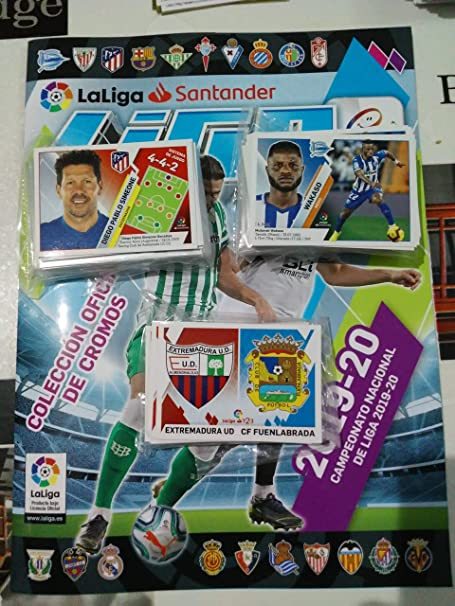 LIGAESTE Lote (Álbum + 300 cromos) Liga Este 2019 2020 ...