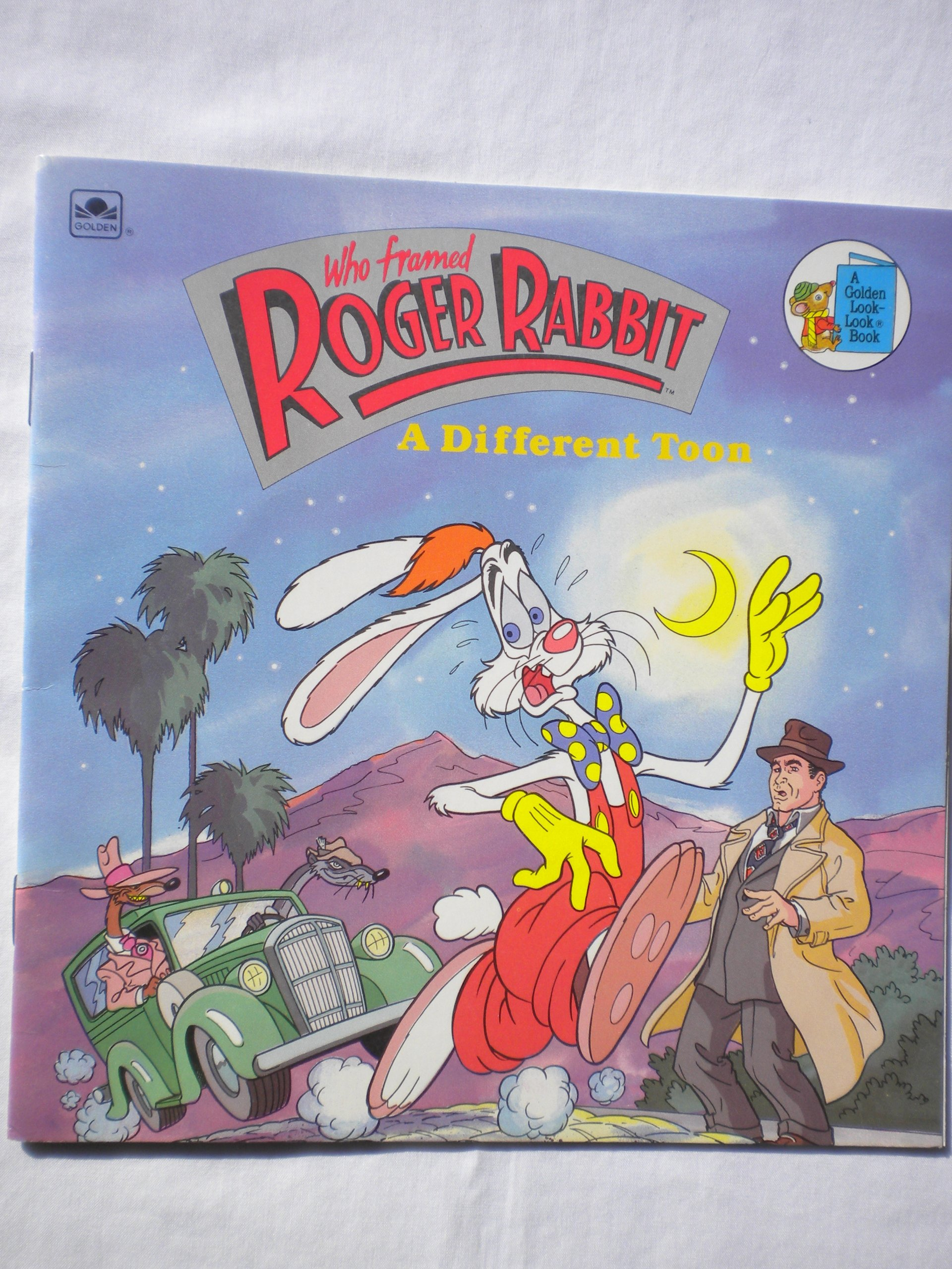 A Different Toon (Who Framed Roger Rabbit): Golden Books ...