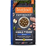 Nature's Variety Instinct Raw Boost Grain Free Recipe Natural Dry Dog Food Senior Chicken