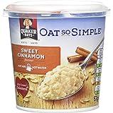 Quaker Oat So Simple Sweet Cinnamon Porridge Pot, 57 g, Pack of 8