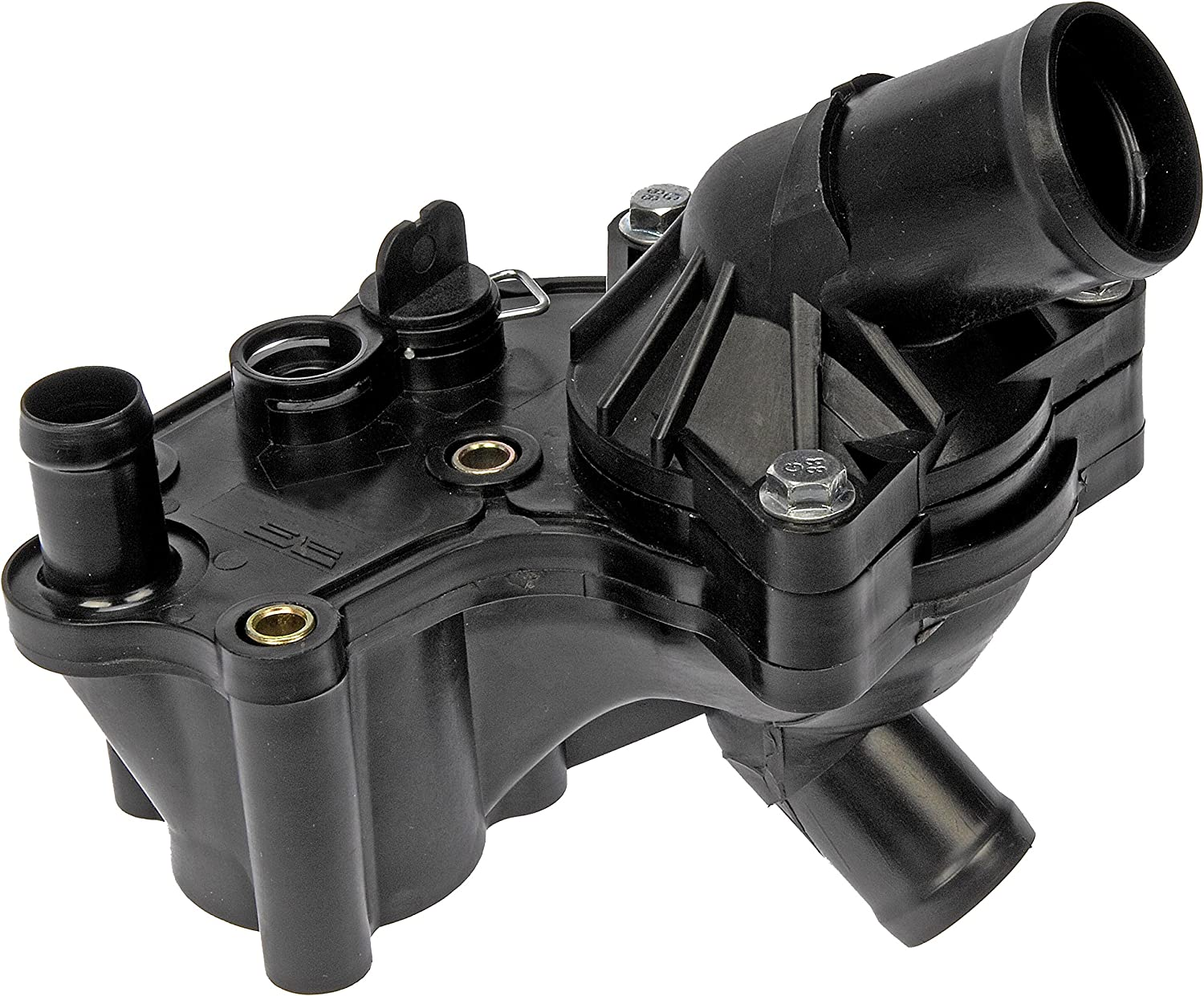 For Saturn Outlook Engine Coolant Thermostat Housing Assembly Dorman 79586VR