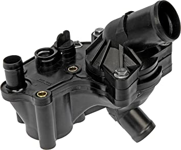 Amazon Com Dorman 902 860 Engine Coolant Thermostat Housing Assembly For Select Ford Mercury Models Black Automotive