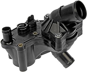 91yLQ5xkp1L._SX355_ amazon com dorman 902 860 thermostat housing kit automotive