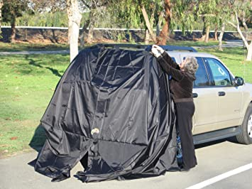 SUV Tent Add-A-Cabana Black (All Orders Shipped Priority Mail No Extra : suv tents amazon - memphite.com