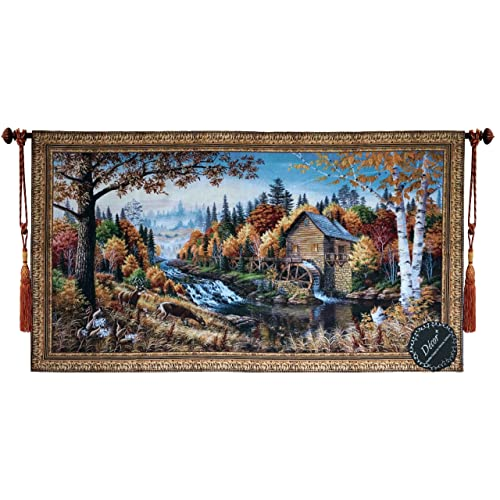 Beautiful Spring Fine Tapestry Jacquard Woven Wall Hanging Art Decor