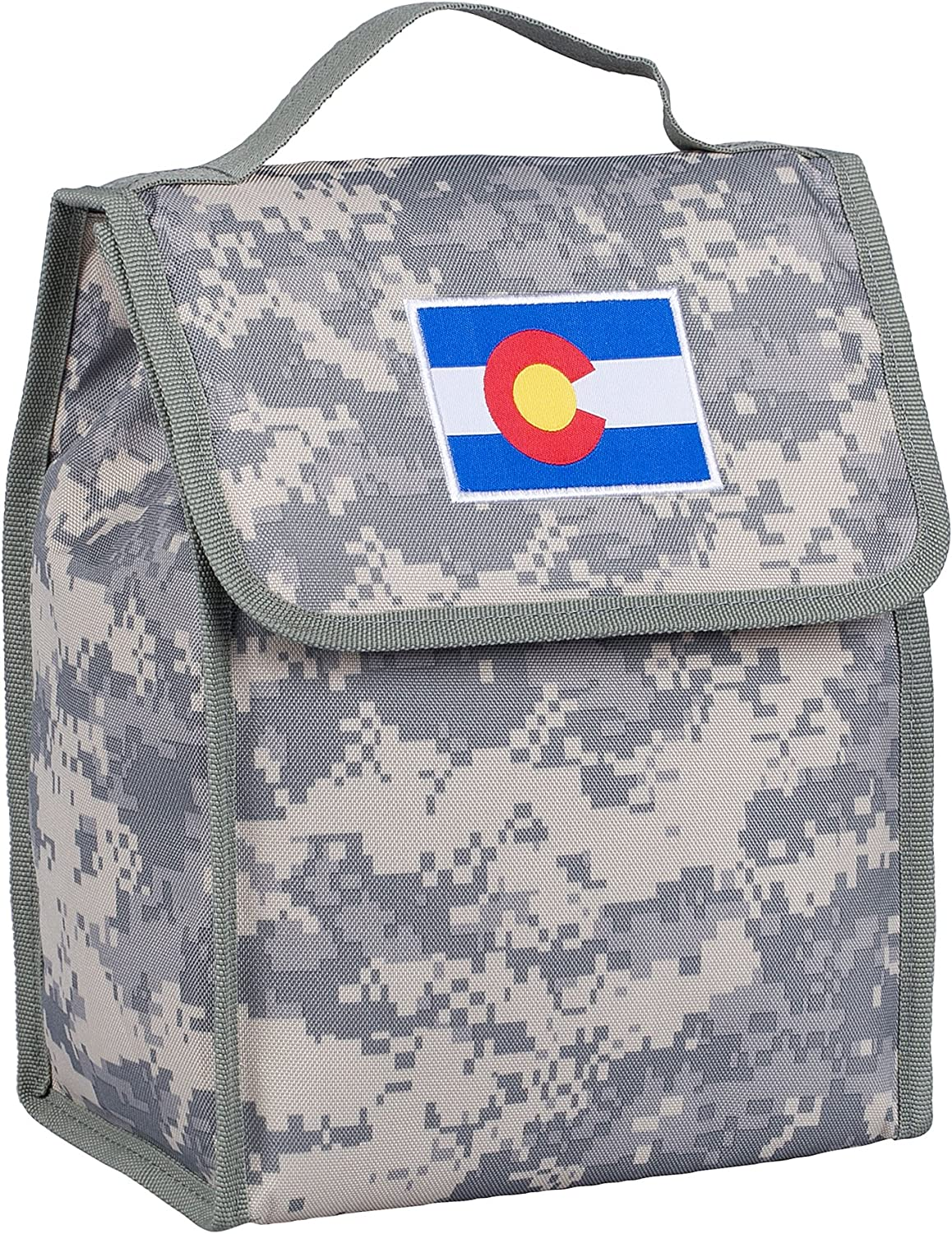 Colorado Digital Camo Lunch Bags Measures 10 x 8.5 x 5 Inches Wildkin Kids Insulated Lunch Bag For Boys /& Girls Perfect Size for Packing Hot or Cold Snacks for School /& Travel BPA-free