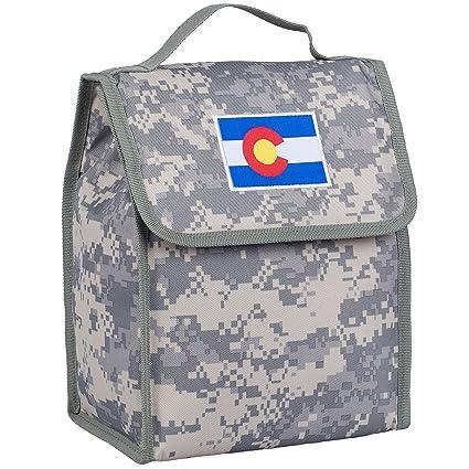 377719ef2095 Colorado Flag Lunch Bag - Digital Camo