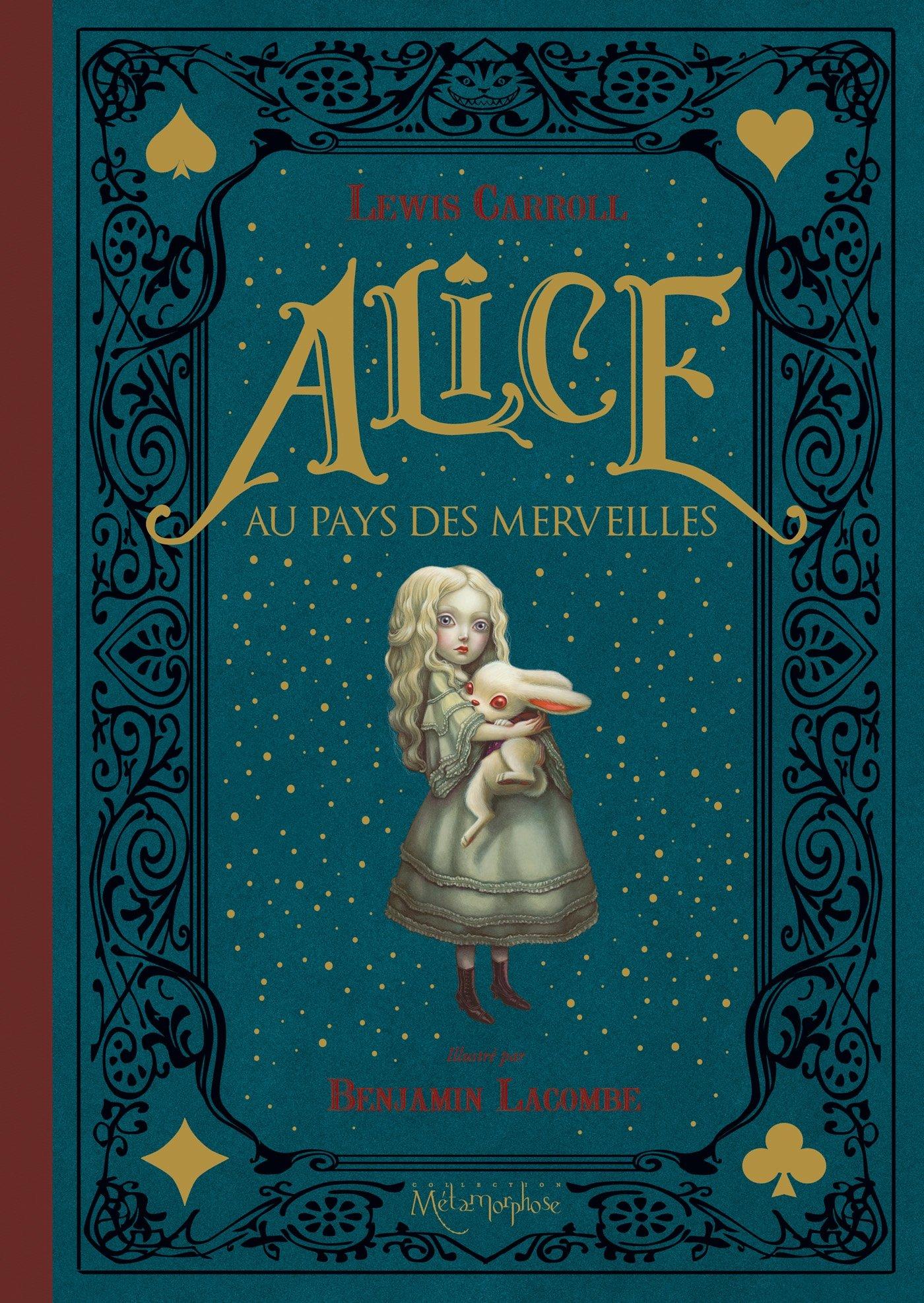 Amazon Fr Alice Au Pays Des Merveilles Carroll Lewis Lacombe