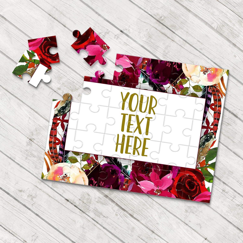 Wedding Announcement Personalized Puzzle Announcement Ideas Pregnancy Announcement Create Your Own Puzzle Custom Puzzle CYOP0029
