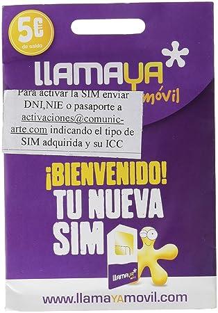 LlamaYa 5 - Tarjeta prepago