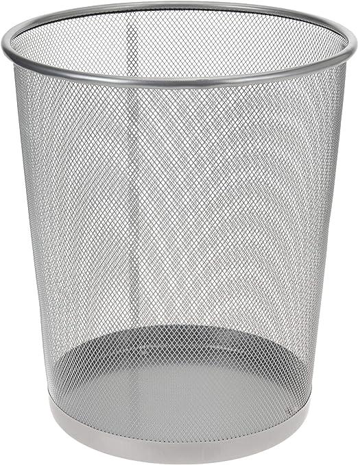 PAPIERKORB METALL MÜLLEIMER Metallgeflecht Abfallkorb
