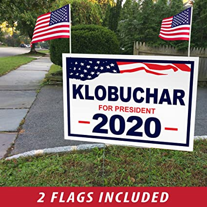 Amazon.com: ITC Amy KLOBUCHAR - Cartel para Presidente 2020 ...