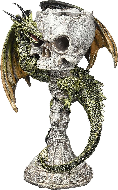 Smart Living Sunshine Megastore Green Dragon Candle Holder