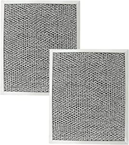 Kitchen Basics 101 Aluminum Hood Vent Filter 97006931 Replacement for Broan Nutone BP29 (2)