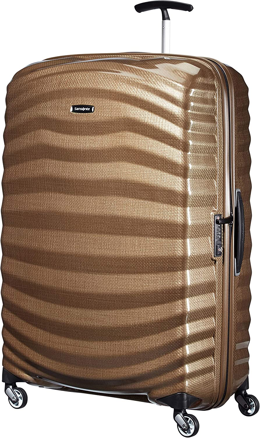 Samsonite Lite-Shock - Spinner XL Maleta, 81 cm, 124 L, Marrón (Sand)