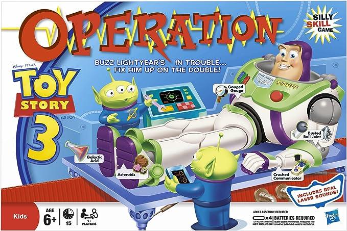 Toy Story 3 de Buzz Lightyear de operación (juguetes) (importado de Inglaterra): Amazon.es: Juguetes y juegos