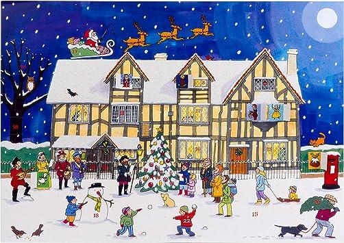 Alison Gardiner tradicional Calendario de Adviento: Navidad en la ...