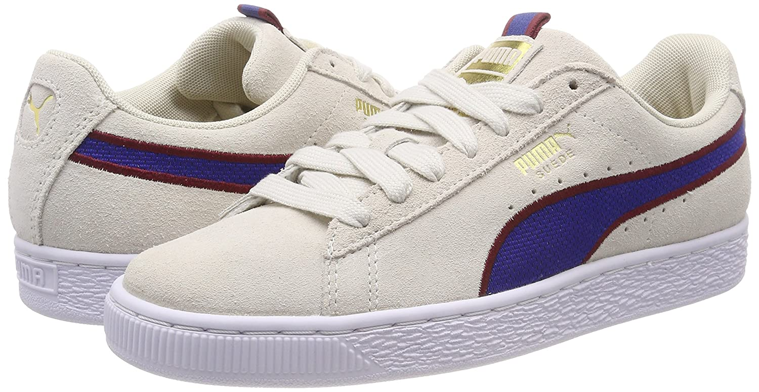 Sport Puma Mixte Stripes Basses Suede Sneakers Adulte Classic HqqzfE