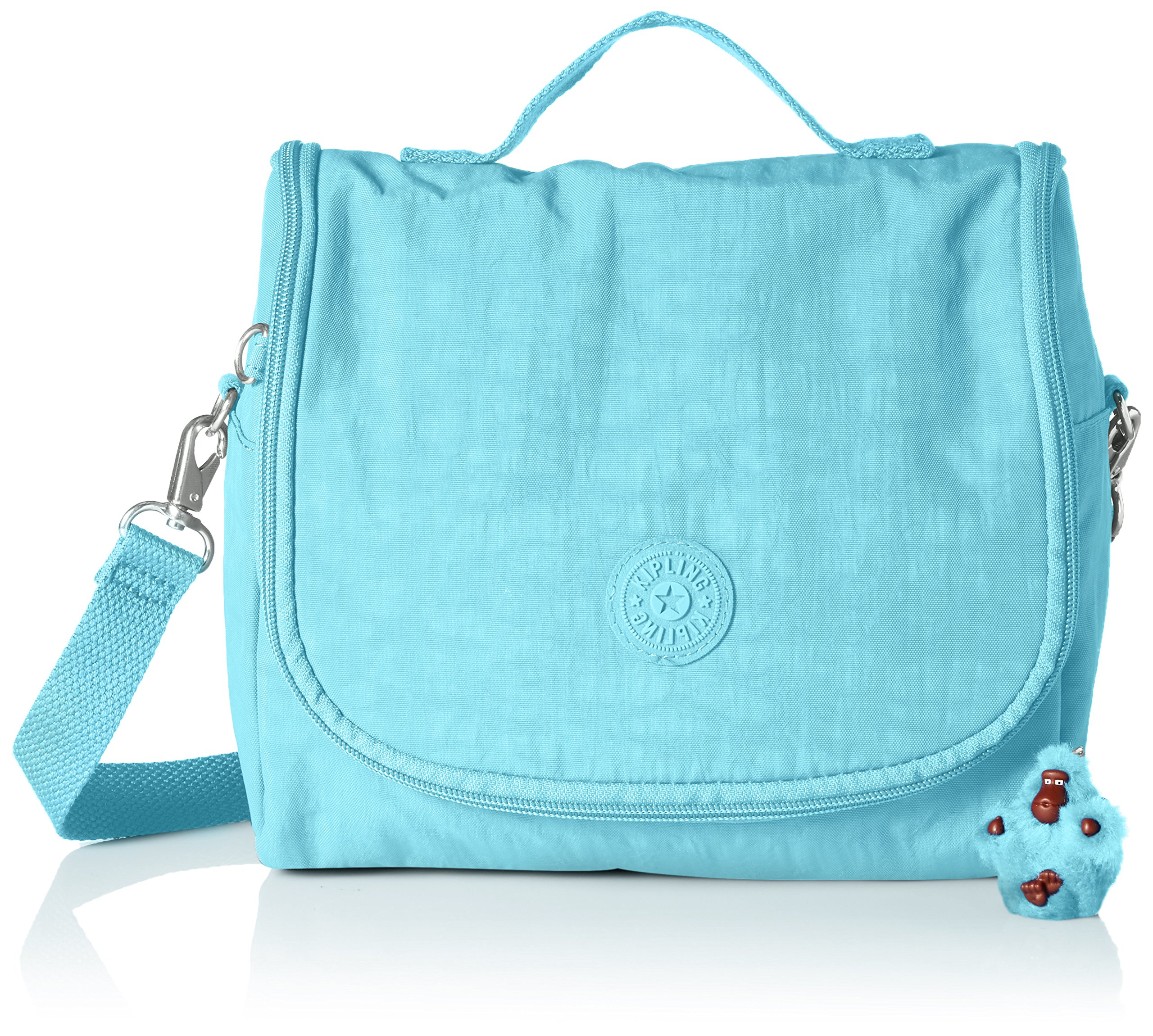 Kipling Kichirou Blue Splash Insulated Lunch Bag, Bluesplash