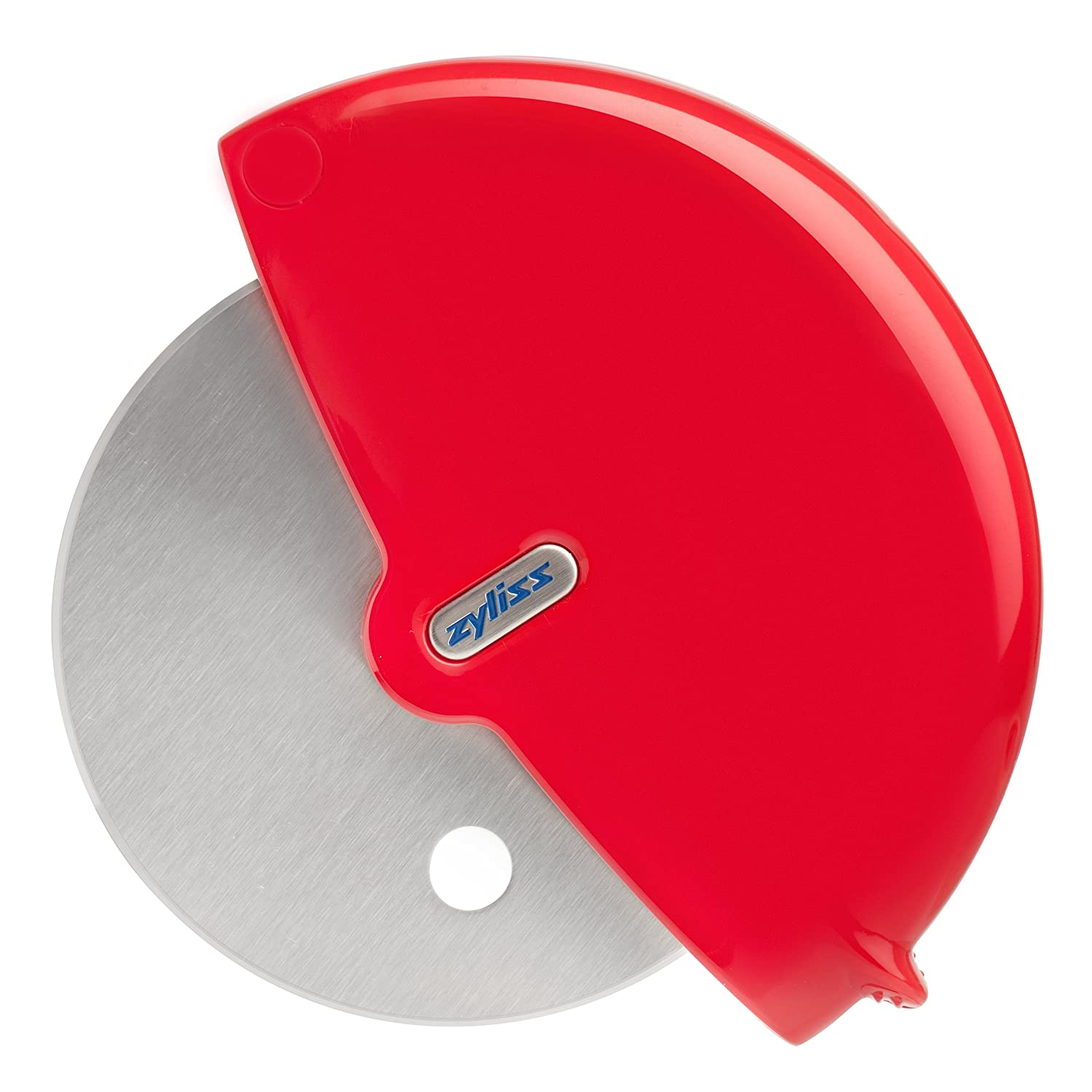 Zyliss Pizza Cutter-Wheel & Slicer, Red Zyliss USA 30810