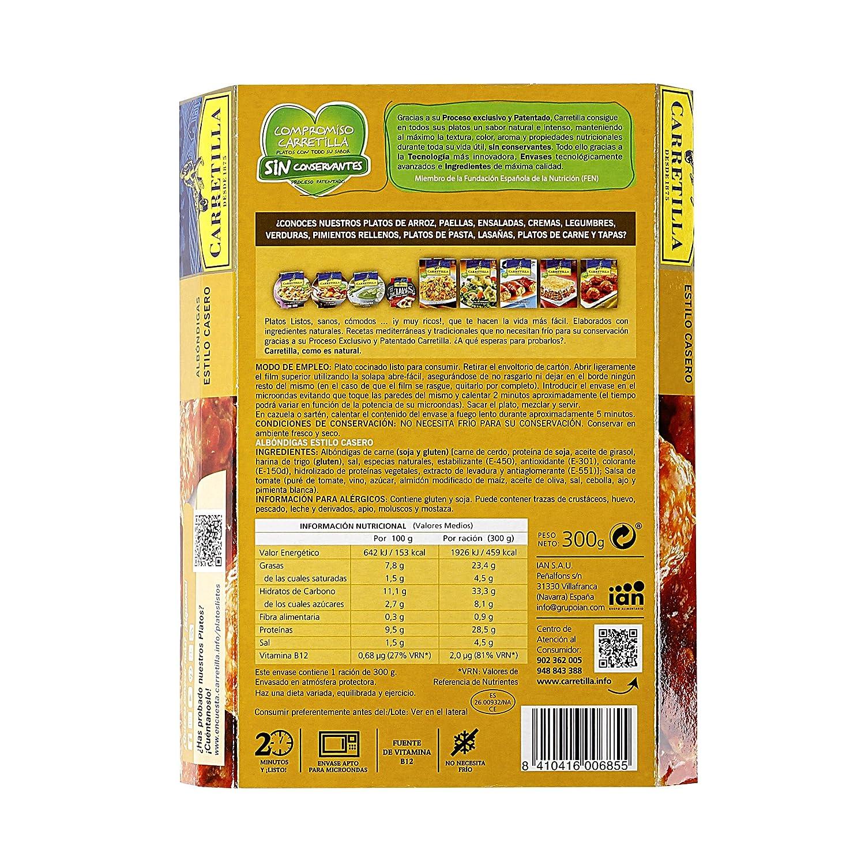 Albóndigas Estilo Casero Carretilla 250 G: Amazon.es: Alimentación y bebidas