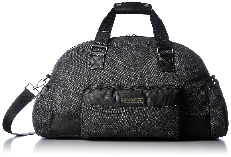 (ディーゼル) DIESELメンズ キャンバス トラベルバッグ SUPERRGEAR TOUCH GEAR DUFFLE travel bag B01MDTO2G5ブラック UNI(FREE サイズ)