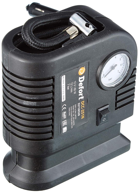 Defort DCC-251N - Minicompresor automático (12 V) [Importado de Alemania]: Amazon.es: Coche y moto