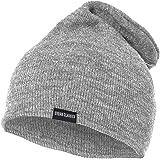 URBAN CLASSICS Bonnet long, bonnet D'hiver longue,bonnet tricoté,gris