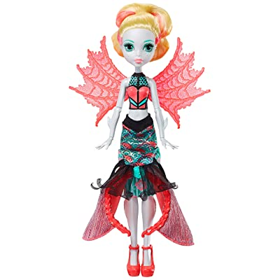 Monster High Ghoul to Mermaid Lagoona Blue Transformation Doll: Toys & Games