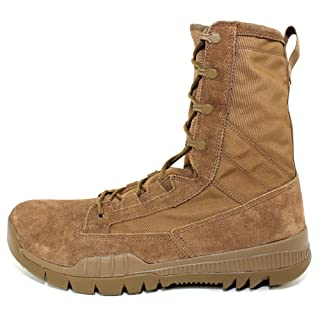 """Nike SFB Field 8"""" Leather Special Field Boots Coyote Brown 688974-220 Size 14"""
