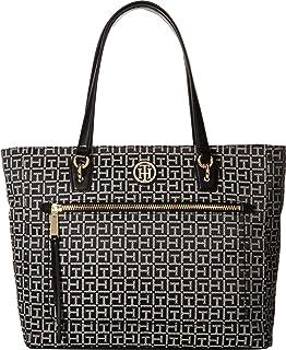 0a92ab368a31 Tommy Hilfiger Women s Claudia Convertible Shopper Black Tonal One ...