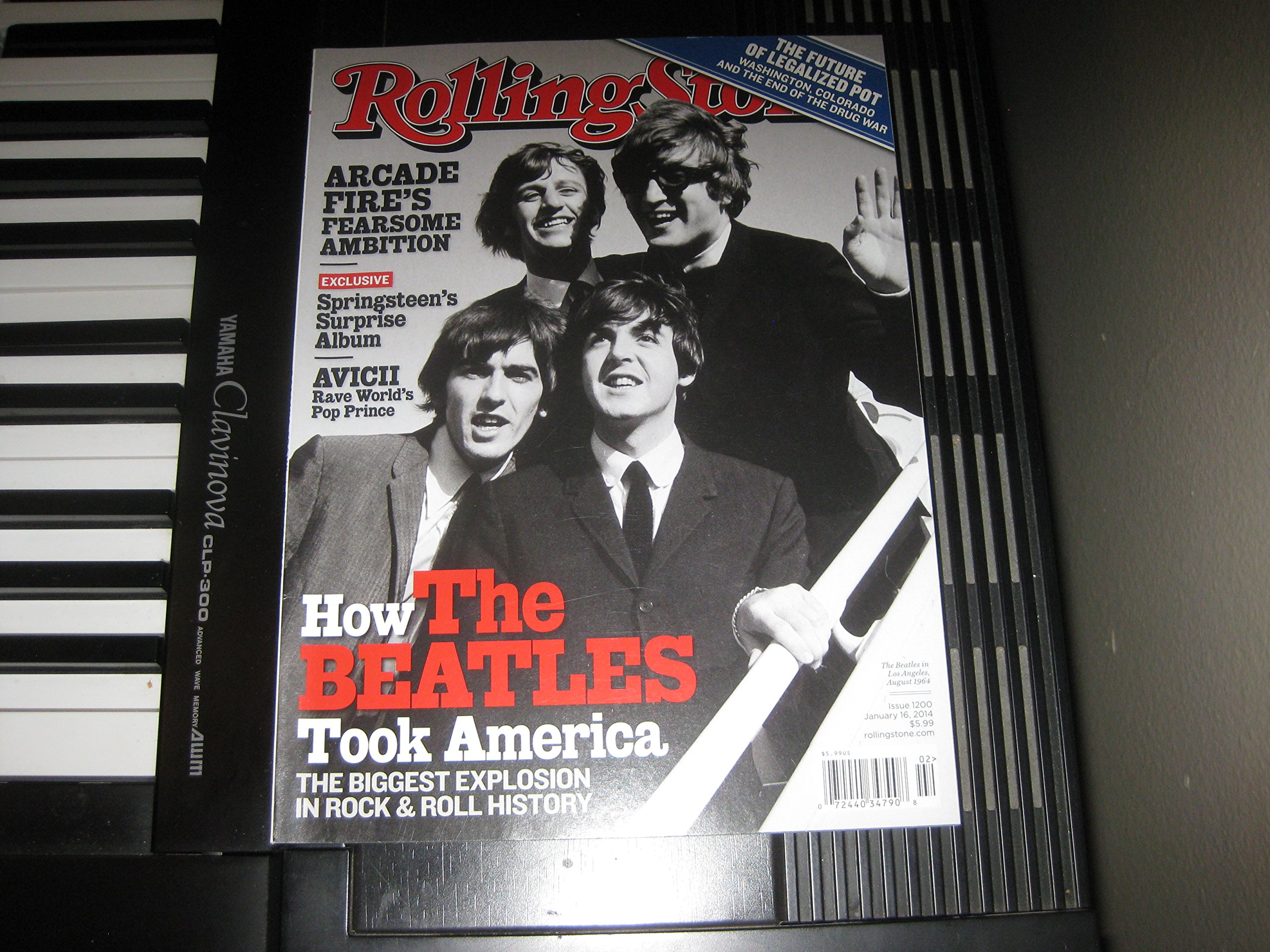 Download Rolling Stone 2014 January 16 - Beatles: How the Beatles Took America. + 8 More Pages Inside Magazine pdf epub